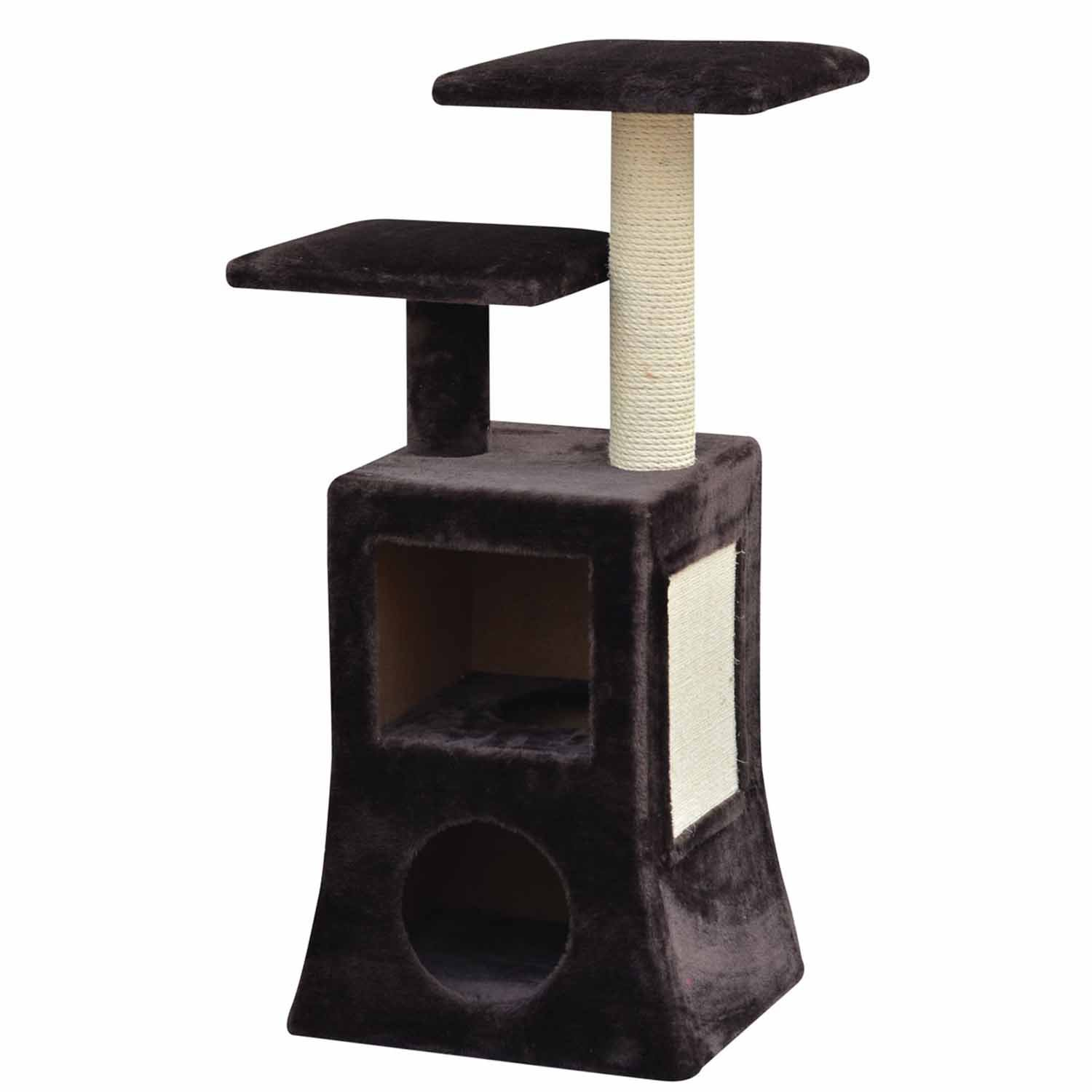 PetPals Group Abstract Design Multi Level Condo Cat Tree