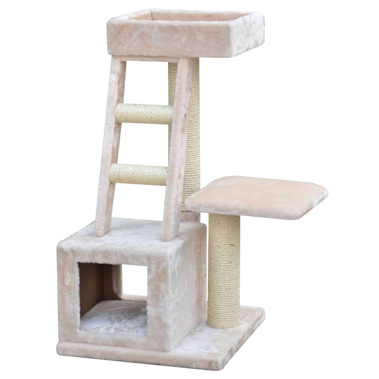 PetPals Group Ladder and Tunnel Playhouse Cat Tree