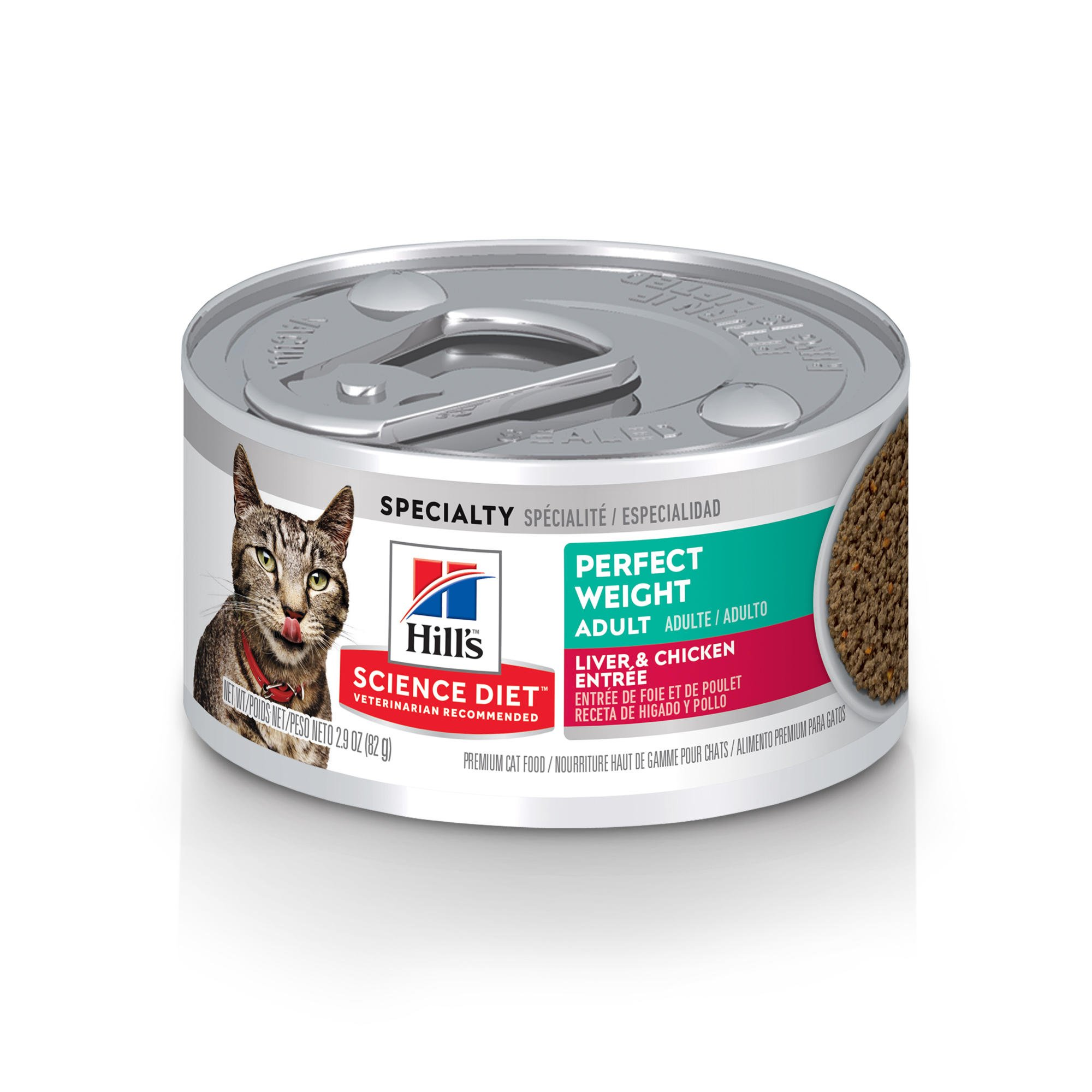 Hills Science Diet Adult Perfect Weight Liver & Chicken Entree Canned Cat Food