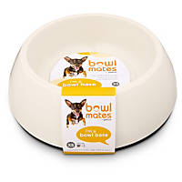 Bowlmates by Petco X-Small Round Base in White
