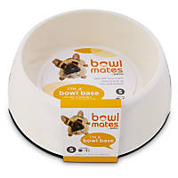 Bowlmates by Petco Small Round Base in White