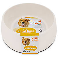 Bowlmates by Petco Large Round Base in White