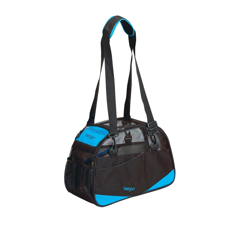 Bergan Voyager Pet Carrier in Black & Blue