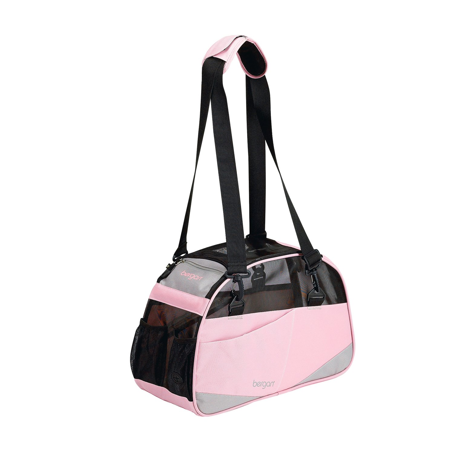 Bergan Voyager Pet Carrier in Pink & Gray