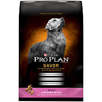 Pro Plan Savor Shredded Blend Salmon & Rice Dog Food