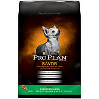 Pro Plan Savor Shredded Blend Small Breed Dog Food