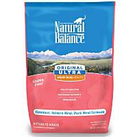 Natural Balance Original Ultra Whole Body Health Calamari, Salmon & Duck Dry Kitten & Cat Food, 5 lbs.
