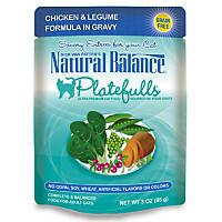Natural Balance Platefulls Chicken & Legume Adult Cat Food