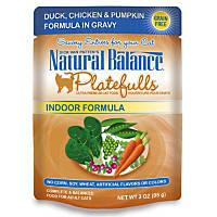 Natural Balance Platefulls Duck, Chicken & Pumpkin Adult Cat Food