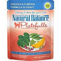 Natural Balance Platefulls Chicken & Pumpkin Adult Cat Food