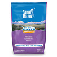 Natural Balance Original Ultra Whole Body Health Venison Turkey & Lamb Dry Kitten & Cat Food