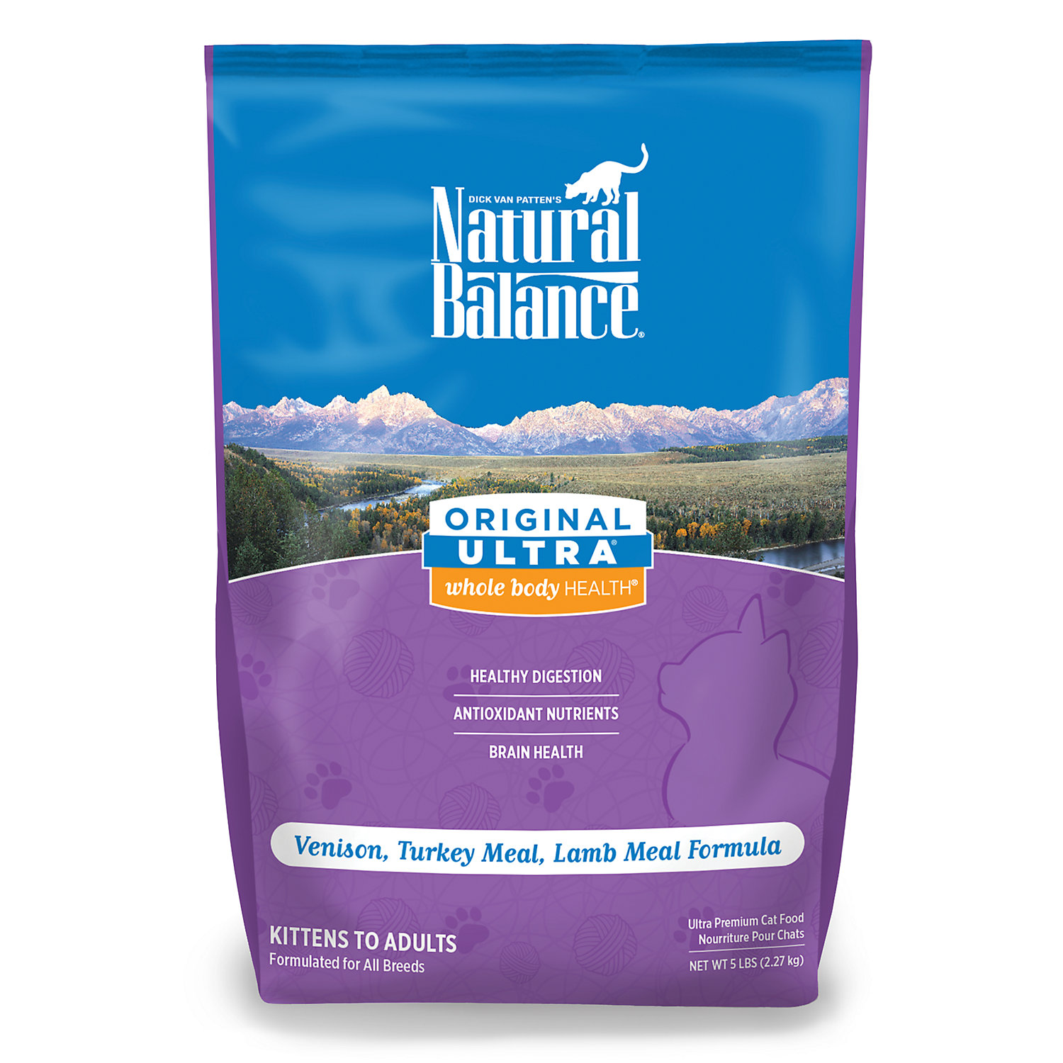 Natural Balance Original Ultra Whole Body Health Venison, Tu