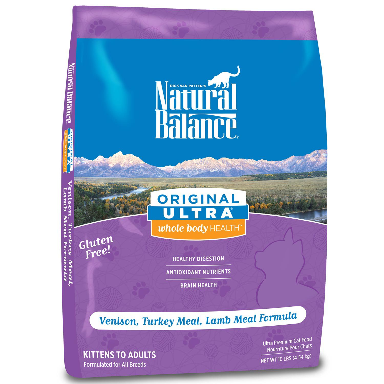 Natural Balance Venison Dry Cat Food