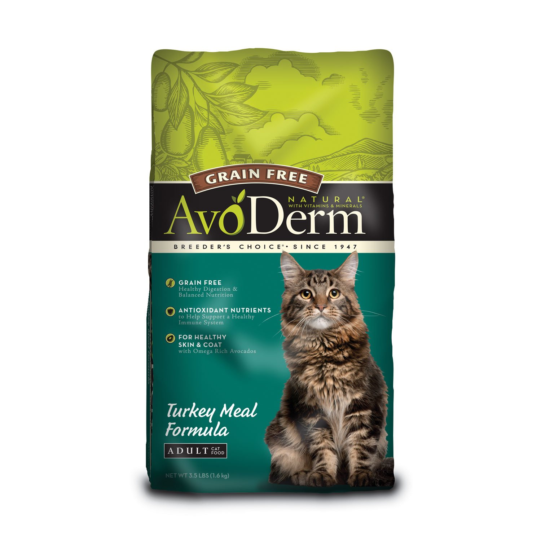 AvoDerm Natural Grain Free Turkey Meal Adult Cat Food
