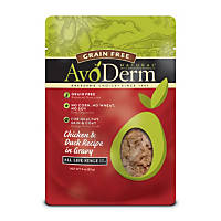 AvoDerm Natural Grain Free Chicken & Duck Cat Food Pouches