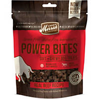 Merrick Power Bites Soft & Chewy Beef Dog Treats