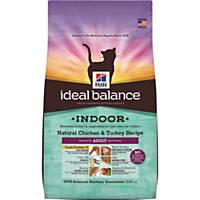 Hill's Ideal Balance Indoor Chicken & Turkey Cat Food