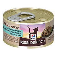 Hill's Ideal Balance Grain Free Tuna Canned Cat Food