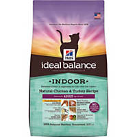 Hill's Ideal Balance Indoor Chicken & Turkey Cat Food