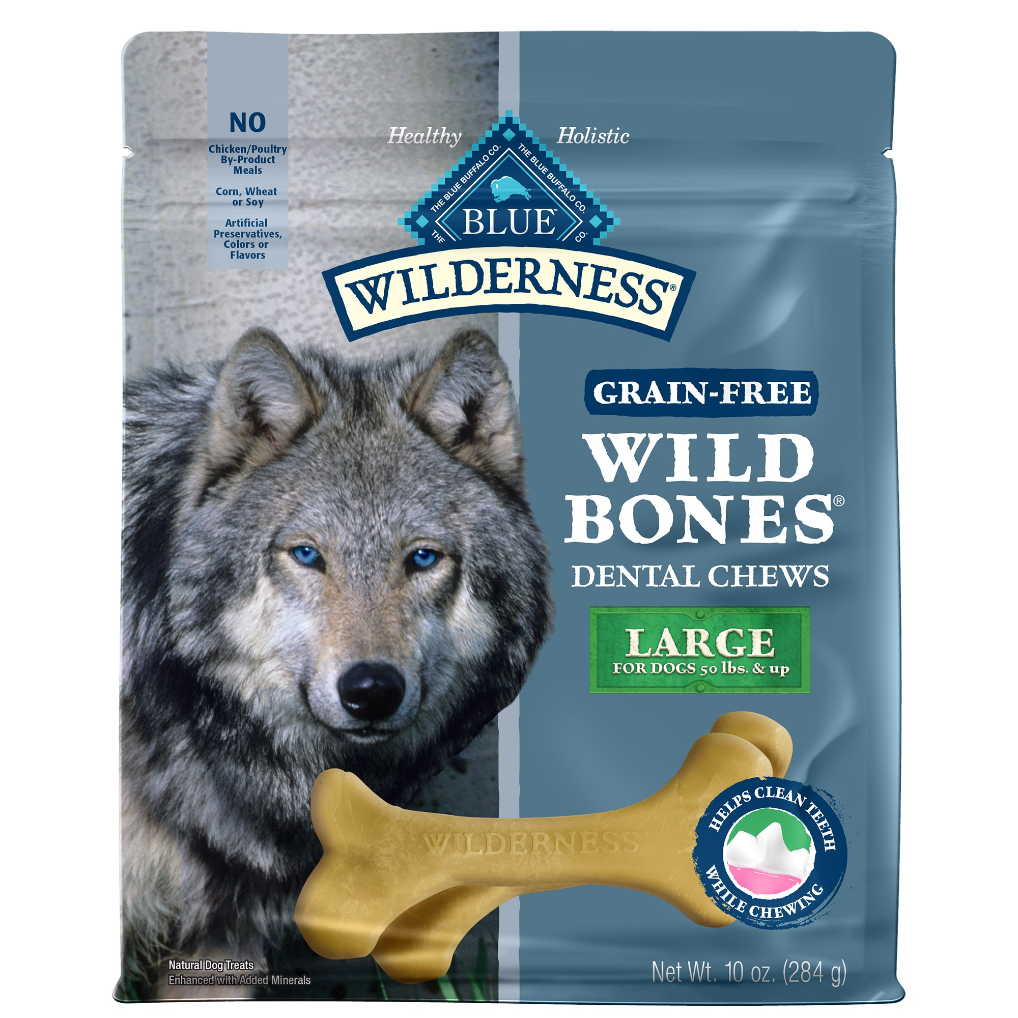 Blue Buffalo Wilderness Wild Bones Dog Dental Chews