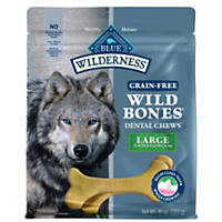 Blue Buffalo Wilderness Wild Bones Dog Dental Chews