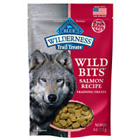 Blue Buffalo Wilderness Wild Bits Salmon Dog Training Treats