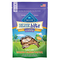 Blue Buffalo Crunchy Blue Bits Banana & Peanut Butter Dog Training Treats