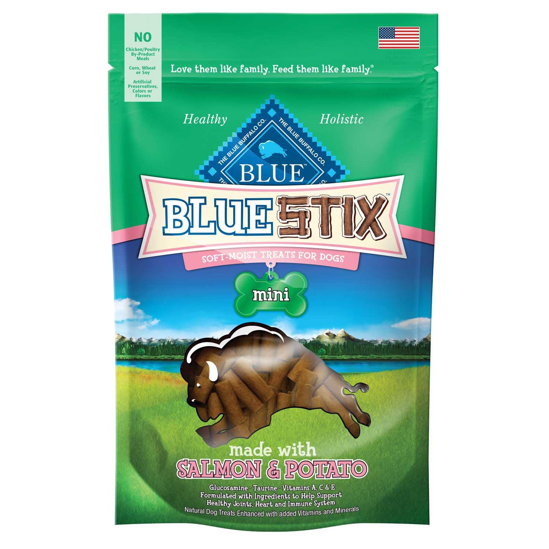 Blue Buffalo Blue Stix Mini Salmon & Potato Dog Treats