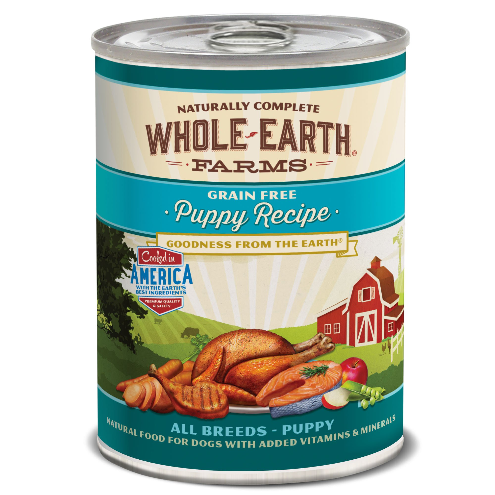 Whole Earth Farms Grain Free Canned Puppy Food