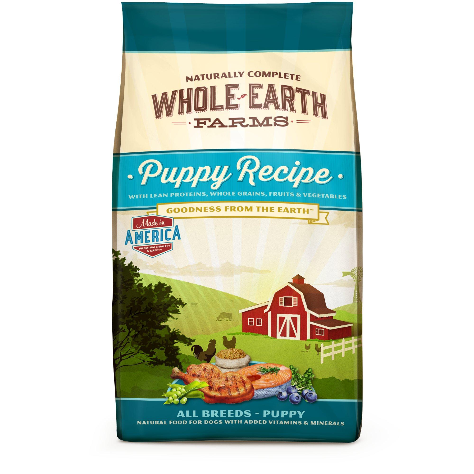 Whole Earth Farms Puppy Food