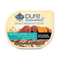 Nature's Recipe Pure Essentials Grain Free Lamb in Broth Wet Dog Food