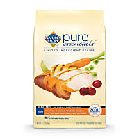 Nature's Recipe Pure Essentials Grain Free Adult Chicken & Sweet Potato Dog Food, 24 lbs.a
