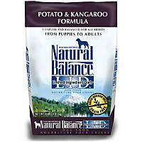 Natural Balance L.I.D. Limited Ingredient Diets Potato and Kangaroo Dog Food