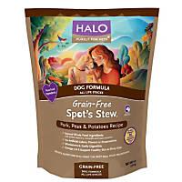 Halo Spot's Stew Grain Free Pork Peas & Potatoes Dog Food