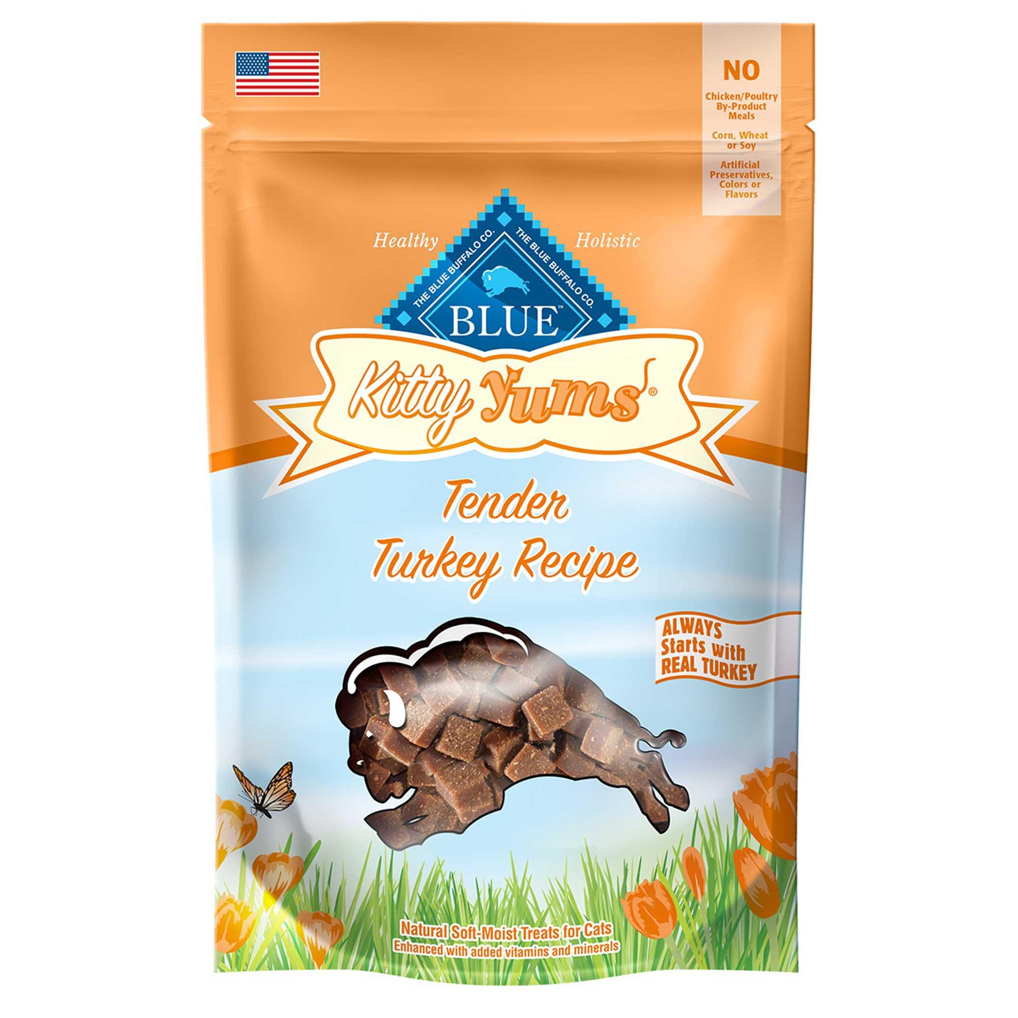 Blue Buffalo Kitty Yums Turkey Cat Treats