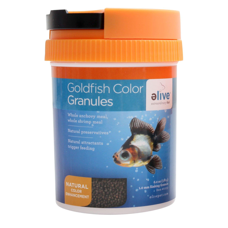 Elive Goldfish Color Granules Fish Food