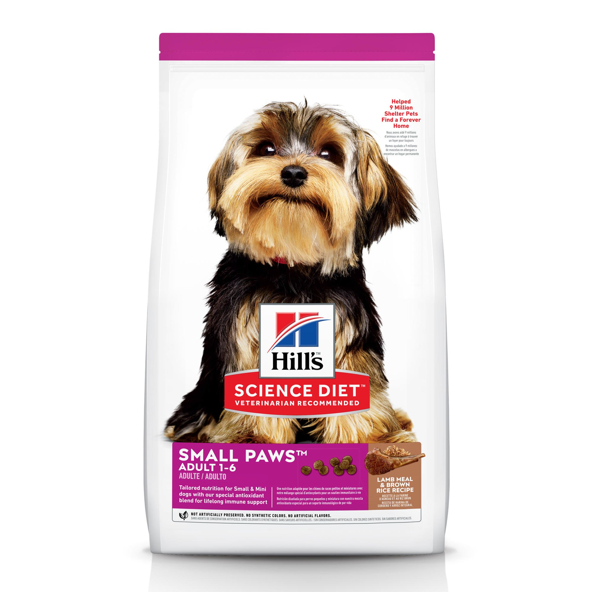 Hill's Science Diet Small & Toy Breed Lamb Meal & Rice Adult Dog Food