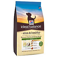 Hill's Ideal Balance Slim & Healthy Chicken & Barley Adult Dog Food