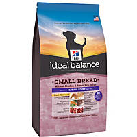 Hill's Ideal Balance Chicken & Brown Rice Small Breed Mature Adult Dog Food