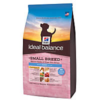 Hill's Ideal Balance Chicken & Brown Rice Small Breed Puppy Food