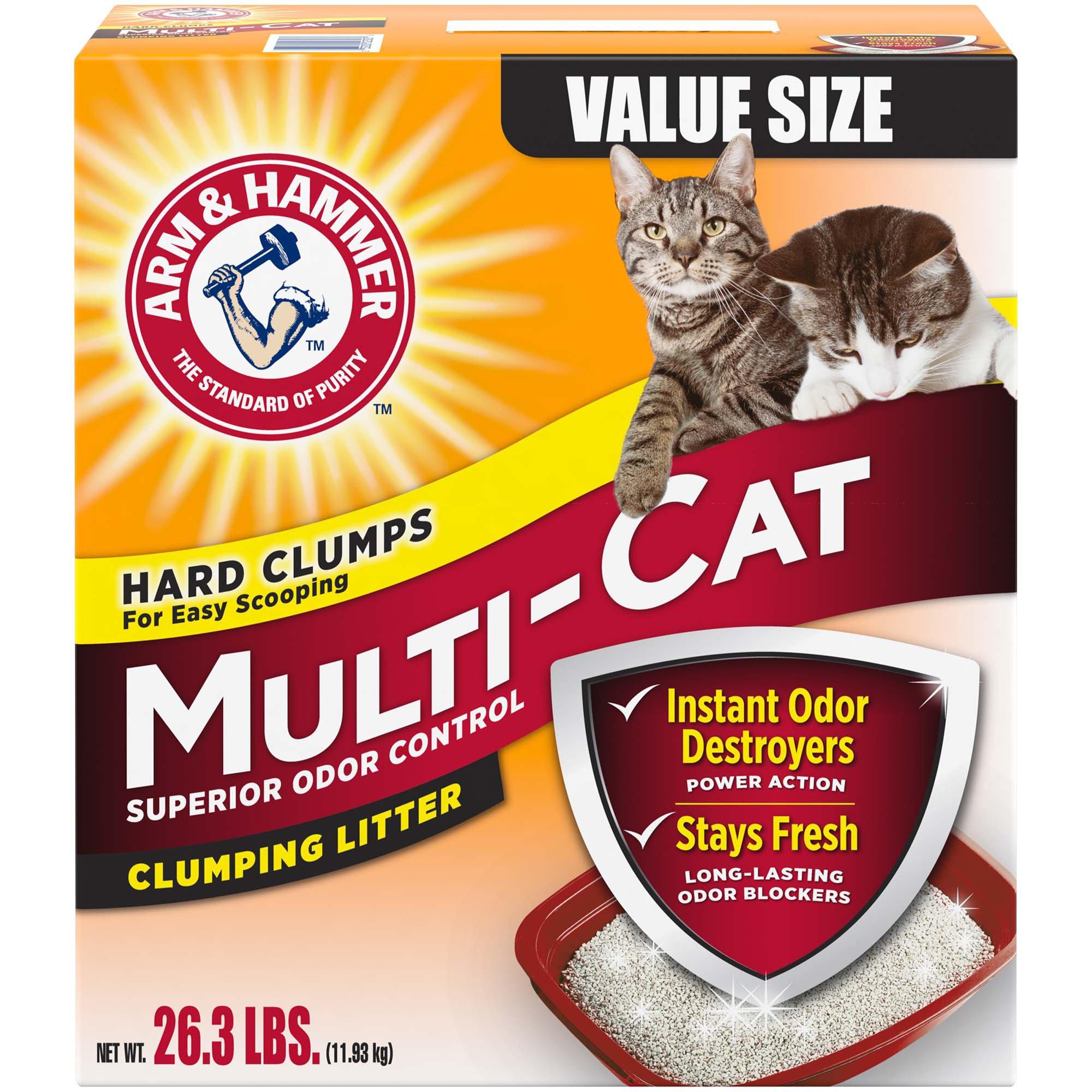 Arm Hammer Multi Cat Strength Clumping Litter
