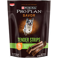 Pro Plan Savor Tender Strips Lamb & Sweet Potato Dog Treats