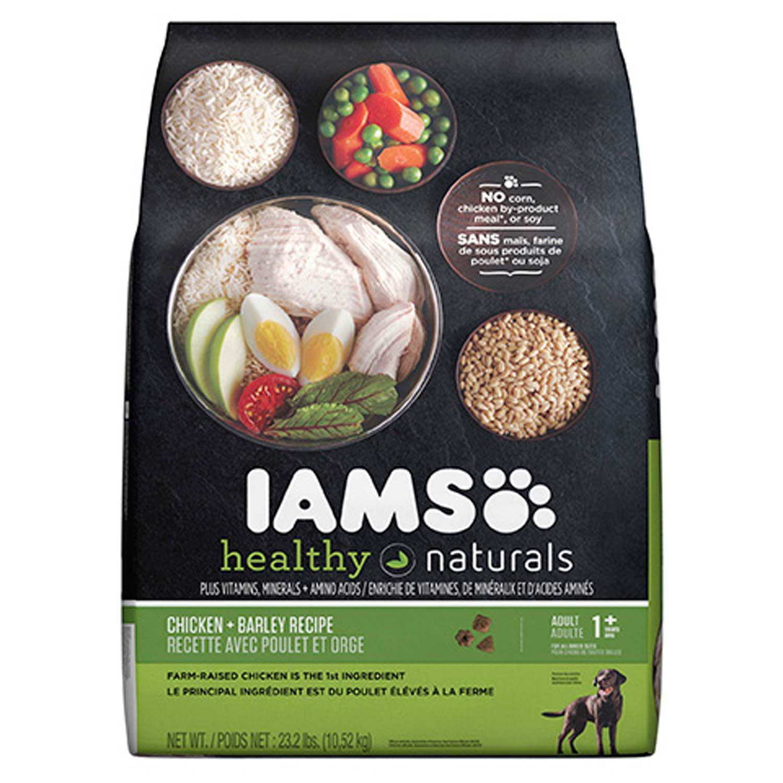 Iams Healthy Naturals Adult Chicken & Barley Adult Dog Food