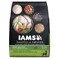 Iams Healthy Naturals Adult Chicken & Barley Adult Dog Food