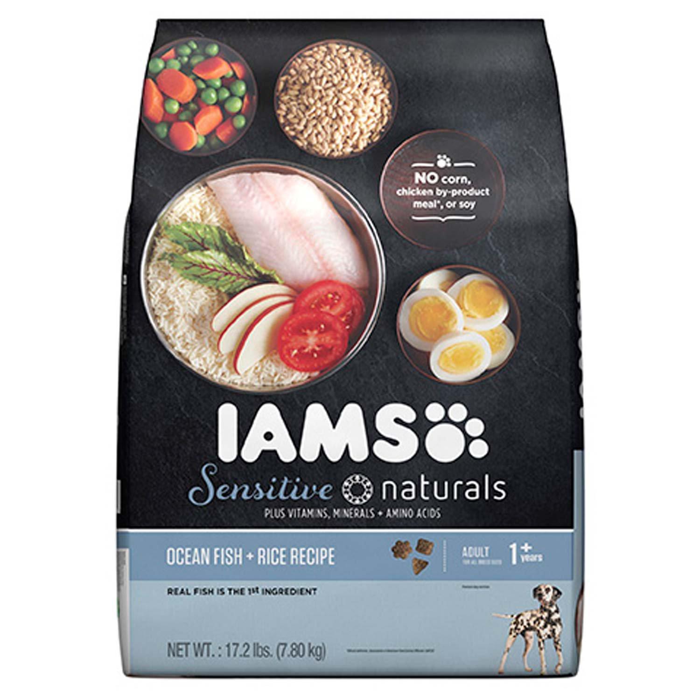 Iams Sensitive Naturals Ocean Fish Rice & Barley Adult Dog Food