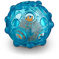 Leaps & Bounds Light Up Rubber Ball Dog Toy