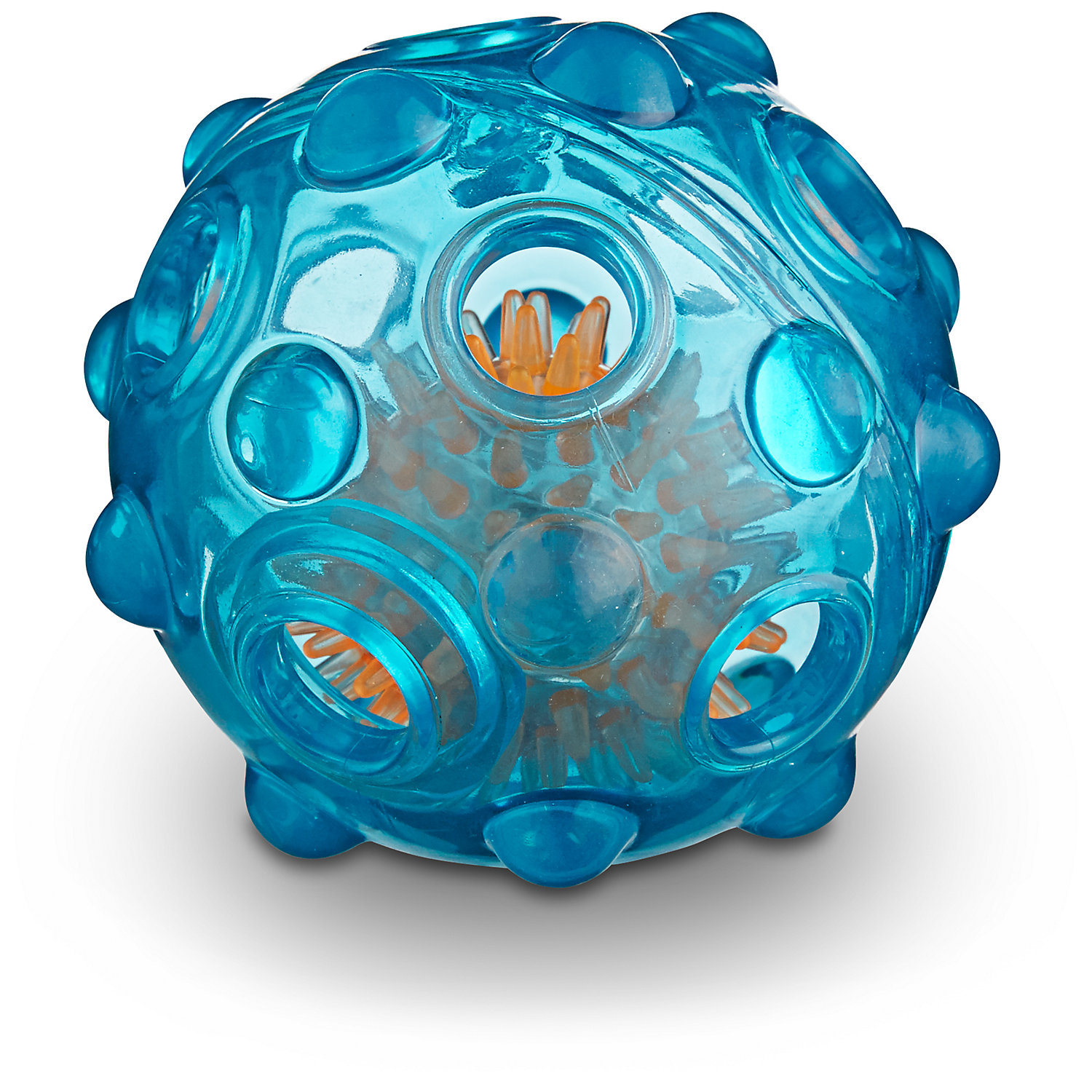 """Leaps & Bounds Light Up Rubber Ball Dog Toy, 3"""" Diameter, As"""