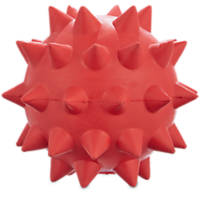 Leaps & Bounds Spiked Rubber Ball Dog Toy
