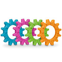 Leaps & Bounds Rubber Cog Dog Toy