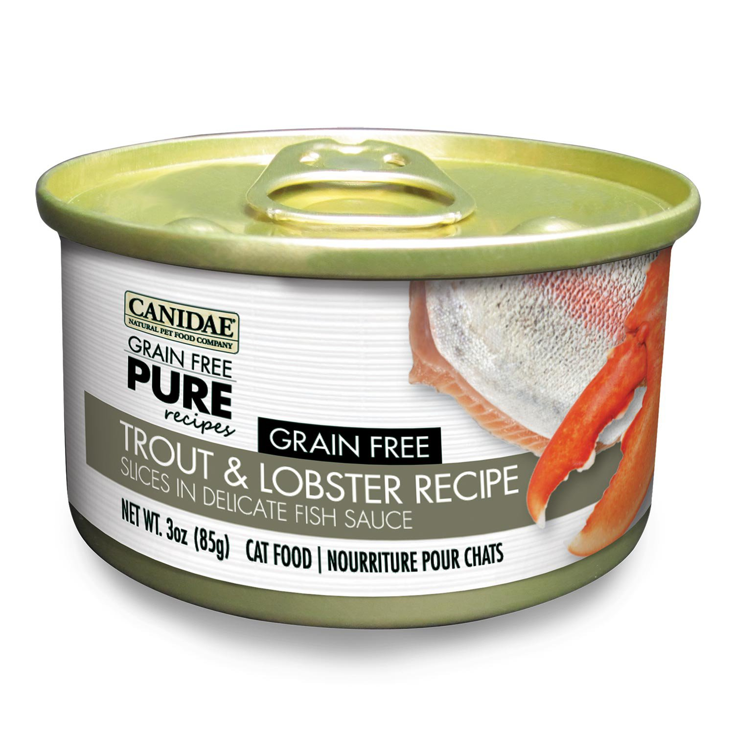 Canidae Grain Free Pure Recipes Trout & Lobster Canned Cat Food